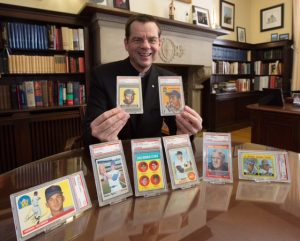 Fr. John Ubel, baseball cards, Aim Higher