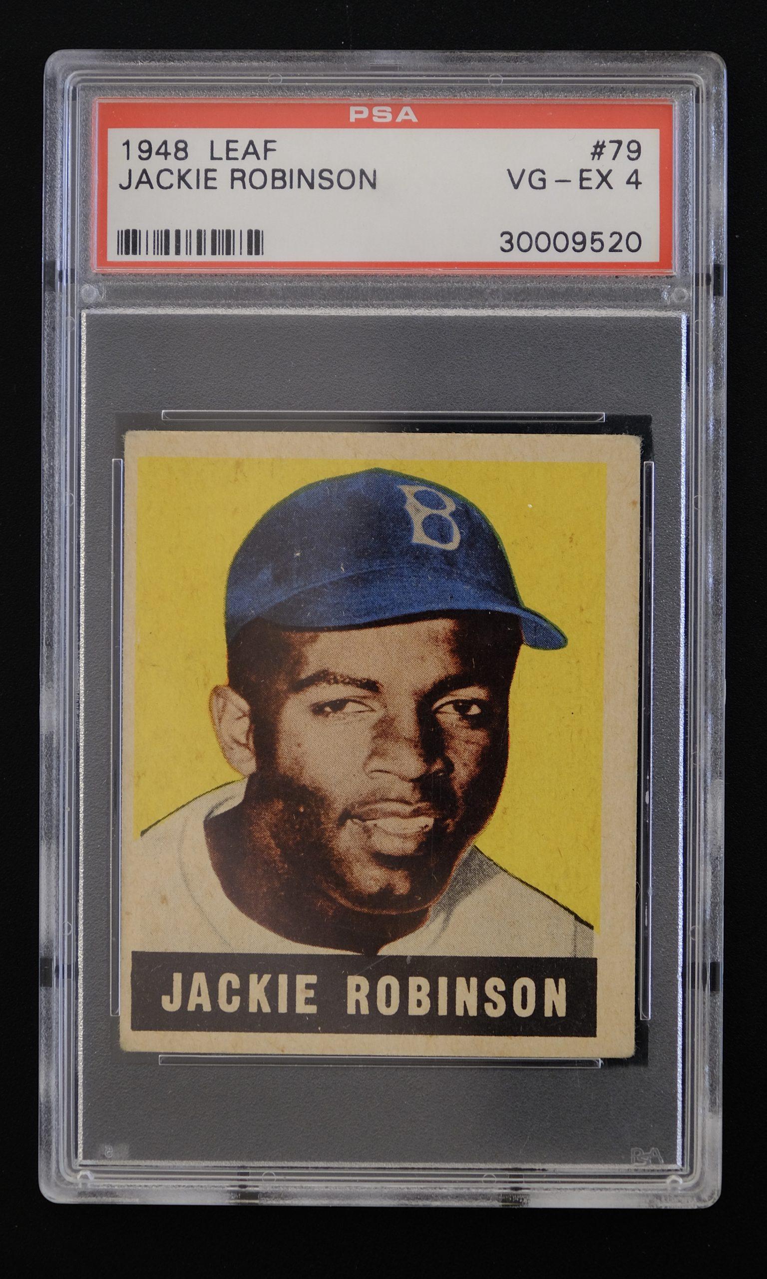 Jackie Robinson card, 1948